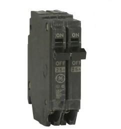 ge q line thqp 50 amp 2 pole standard trip circuit breaker [ 900 x 900 Pixel ]