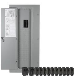 ge 40 circuit 32 space 200 amp main breaker load center value [ 900 x 900 Pixel ]