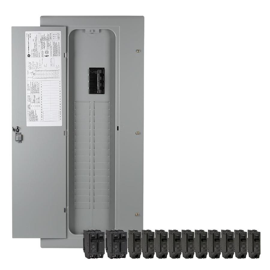 hight resolution of ge 40 circuit 32 space 200 amp main breaker load center value