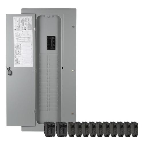 small resolution of ge 40 circuit 32 space 200 amp main breaker load center value