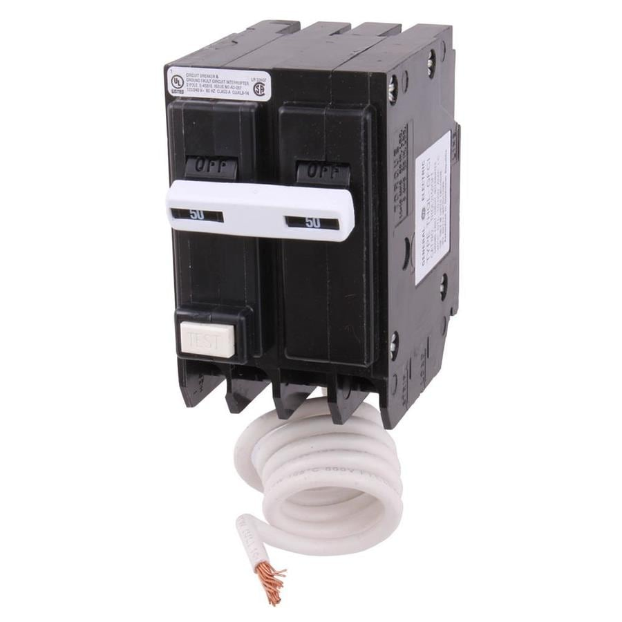 medium resolution of ge q line thql 50 amp 2 pole gfci circuit breaker