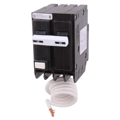 small resolution of ge q line thql 50 amp 2 pole gfci circuit breaker