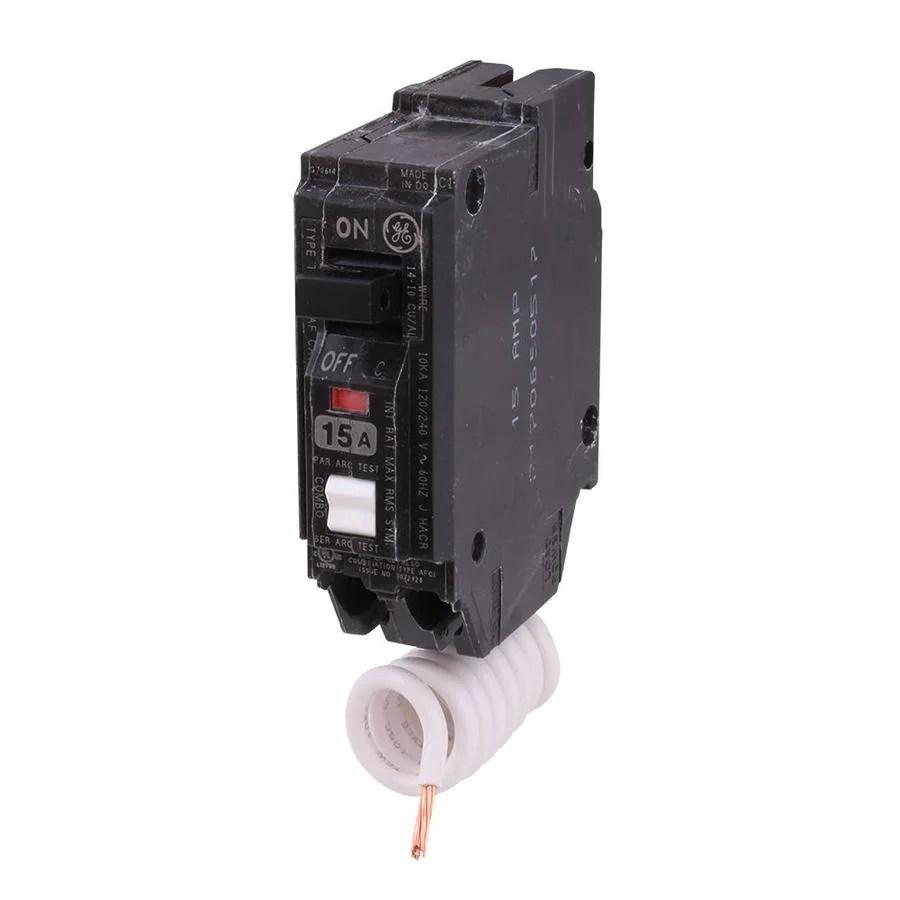 Ge Qline 20 Amp 21 4 In Double Pole Gfci Circuit Breaker