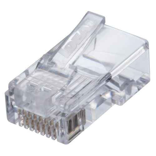 small resolution of ideal idc feed thru cat 5e rj45 mod plug 25 count