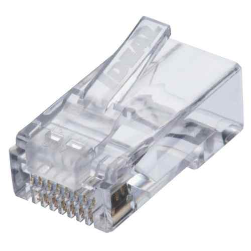 small resolution of ideal idc feed thru cat 6 modular plug 25 count