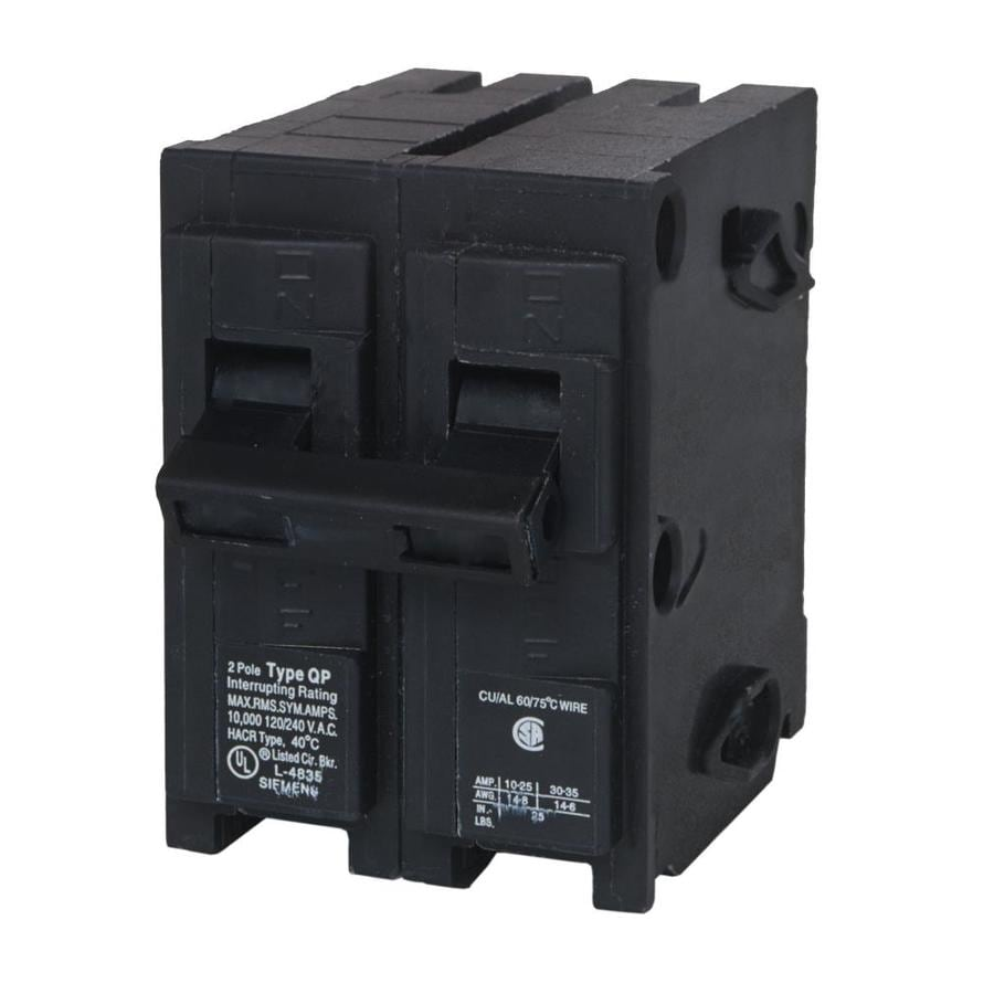 hight resolution of siemens qp 20 amp 2 pole main circuit breaker