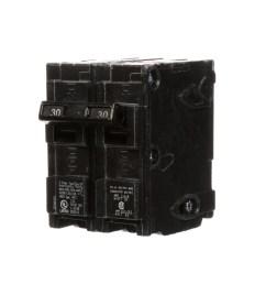 siemens qp 30 amp 2 pole main circuit breaker [ 900 x 900 Pixel ]