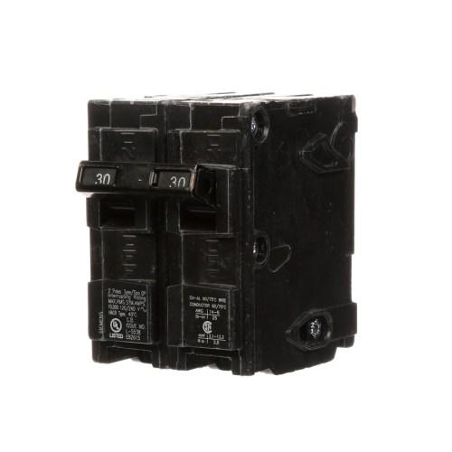small resolution of siemens qp 30 amp 2 pole main circuit breaker