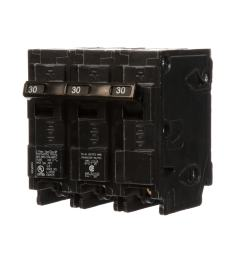 siemens qp 30 amp 3 pole main circuit breaker [ 900 x 900 Pixel ]
