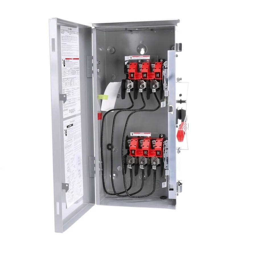 medium resolution of siemens 60 amp non fusible metallic safety switch
