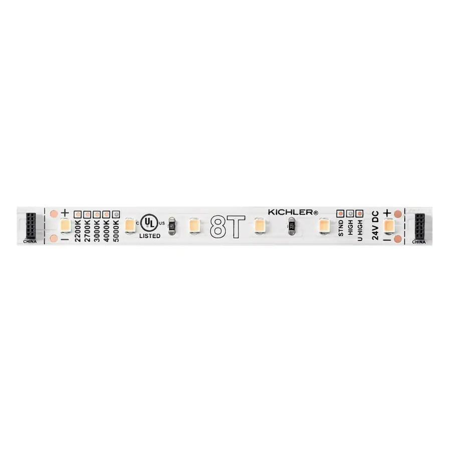 kichler utilitarian 4 25 in hardwired tape under cabinet lights