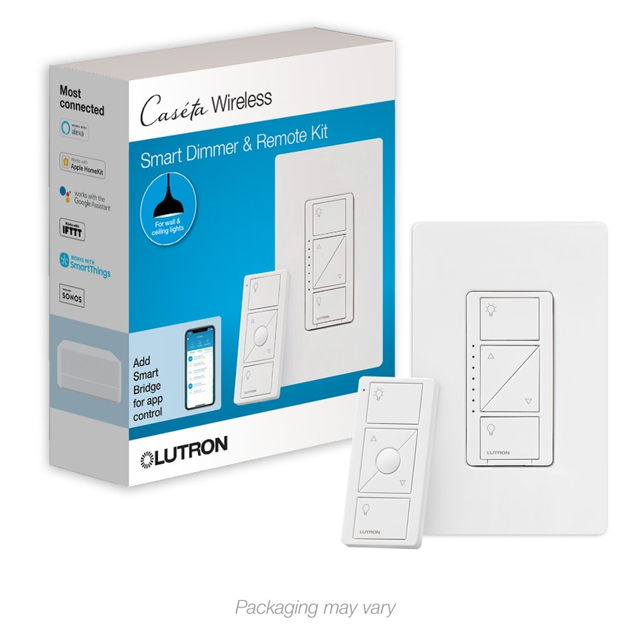 hight resolution of lutron caseta wireless smart lighting white led dimmer with pico remote