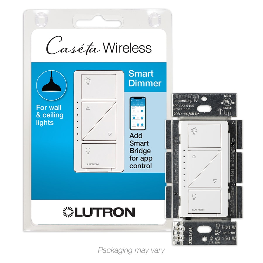 hight resolution of lutron caseta wireless smart lighting white led dimmer