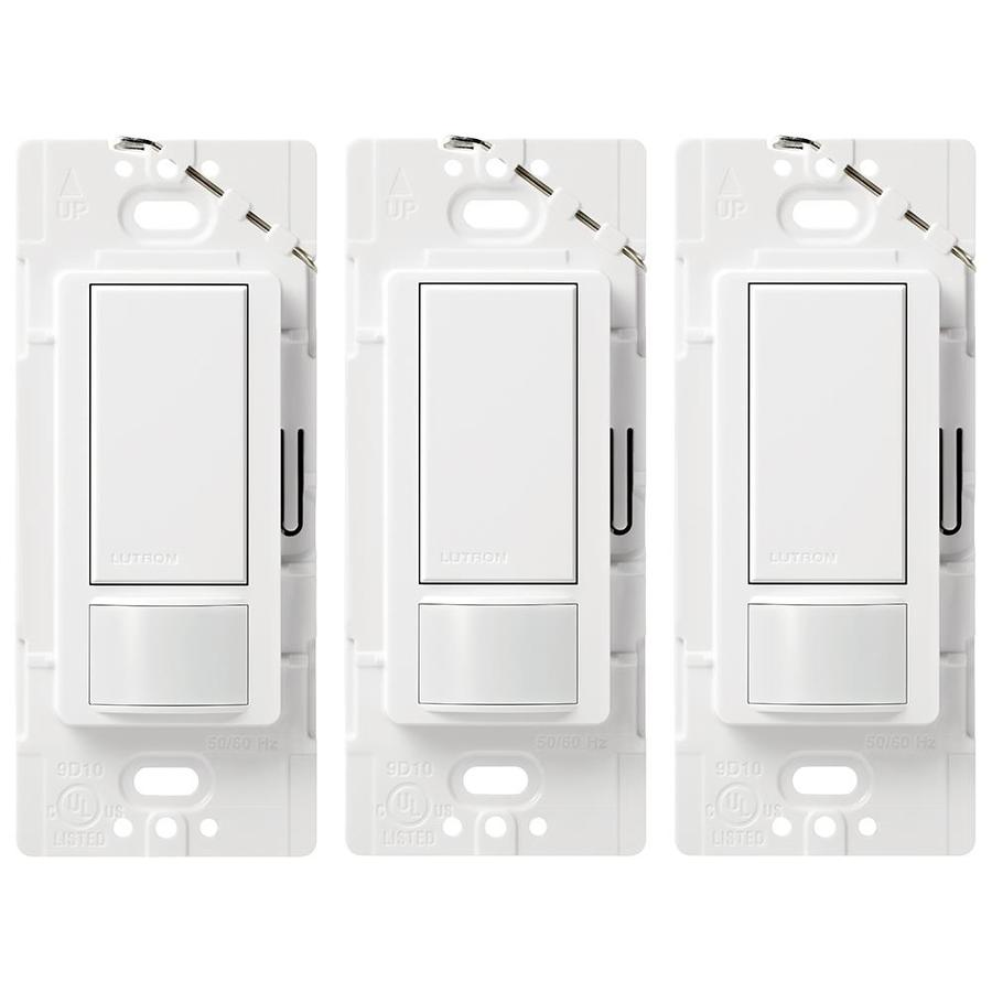 hight resolution of lutron maestro 3 pack switch 5 amp way double pole white indoor