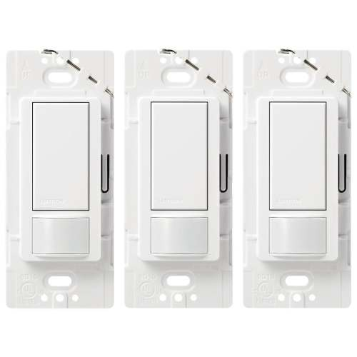 small resolution of lutron maestro 3 pack switch 5 amp way double pole white indoor