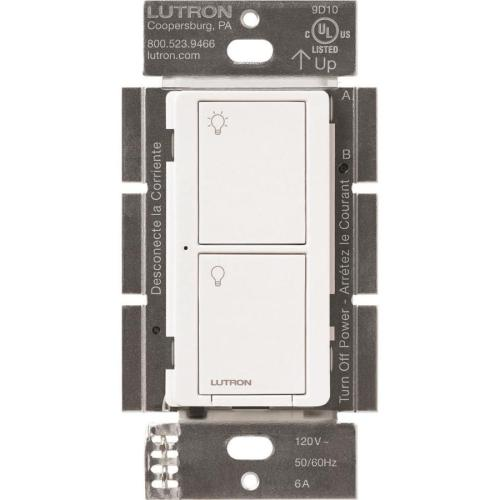 small resolution of lutron caseta wireless 6 amp single pole 3 way white touch residential light switch
