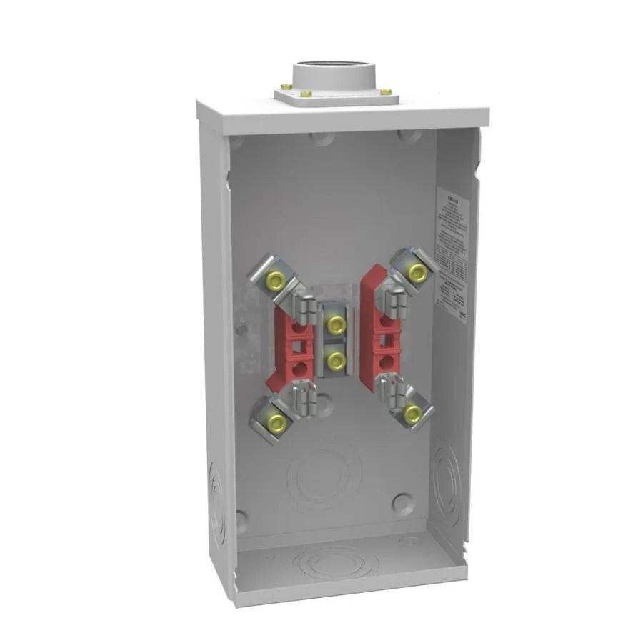 medium resolution of milbank 200 amp ring single phase 120 240 meter socket