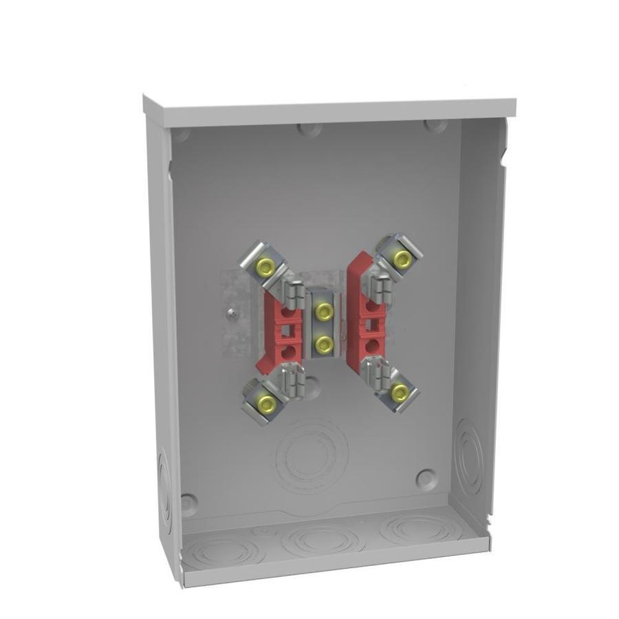 hight resolution of shop milbank 200 amp ring single phase 120 240 meter socket at fuse vs circuit breaker box milbank fuse box single