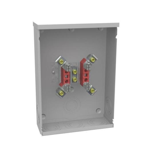 small resolution of shop milbank 200 amp ring single phase 120 240 meter socket at fuse vs circuit breaker box milbank fuse box single