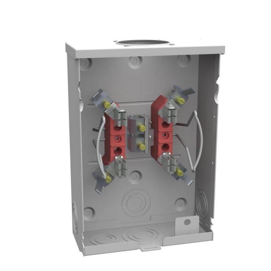 medium resolution of milbank 125 amp ringless single phase 120 240 meter socket