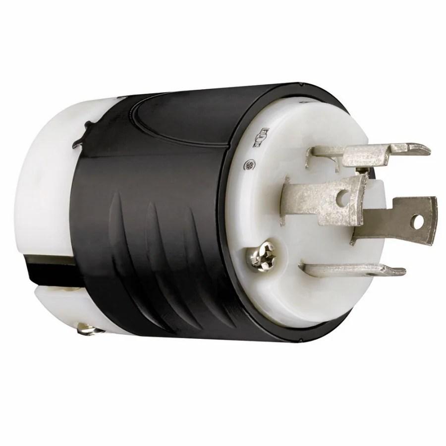 medium resolution of pass seymour legrand pass seymour turnlok 30 amp volt black white 4 wire grounding plug