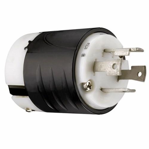 small resolution of pass seymour legrand pass seymour turnlok 30 amp volt black white 4 wire grounding plug