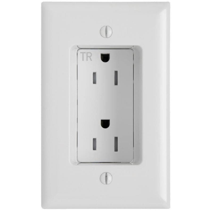 Shop Legrand White 15Amp Decorator Outlet Residential at