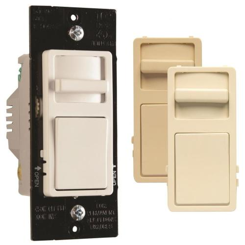 small resolution of legrand wide slide 450 watt single pole 3 way white light almond ivory led dimmer
