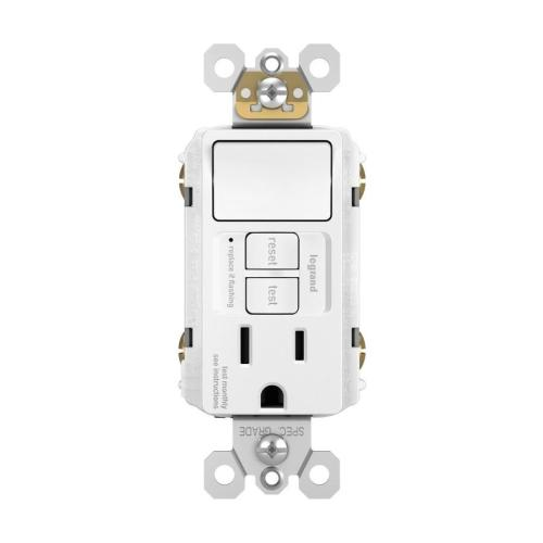 small resolution of legrand radiant white 15 amp decorator tamper resistant gfci residential commercial outlet switch