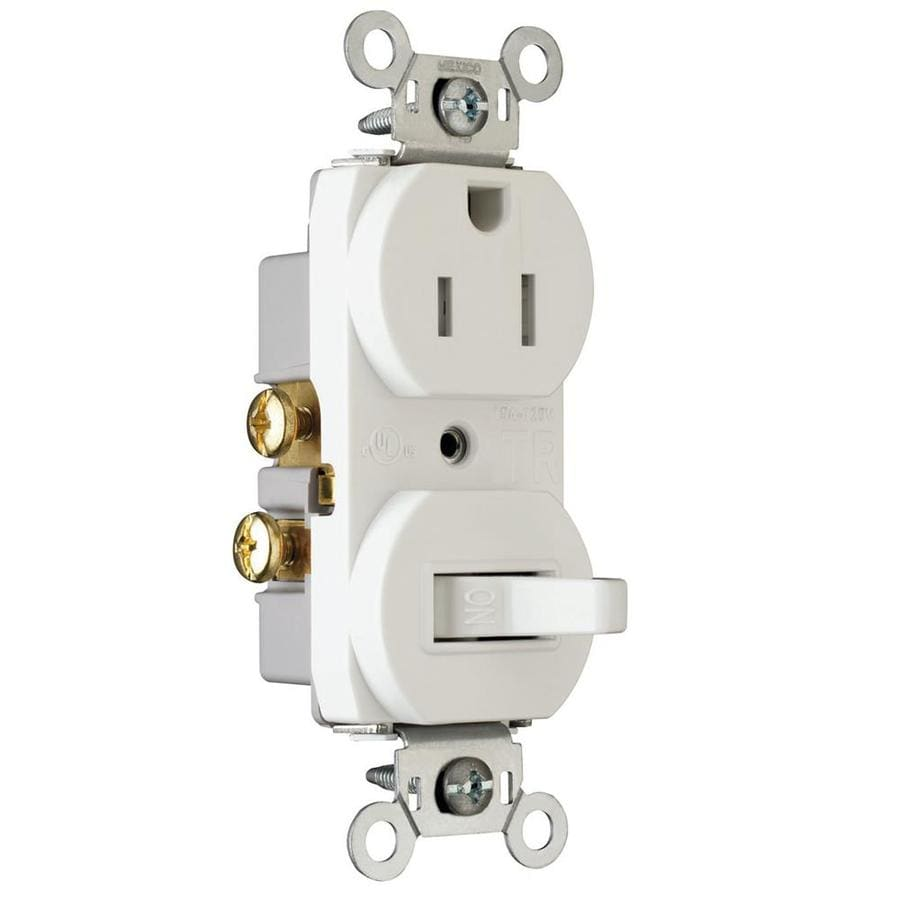 medium resolution of legrand white 15 amp duplex outlet switch residential