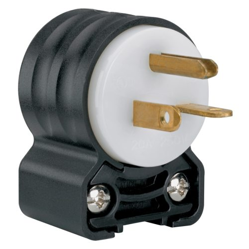 small resolution of legrand pass seymour 20 amp volt black white 3 wire grounding plug