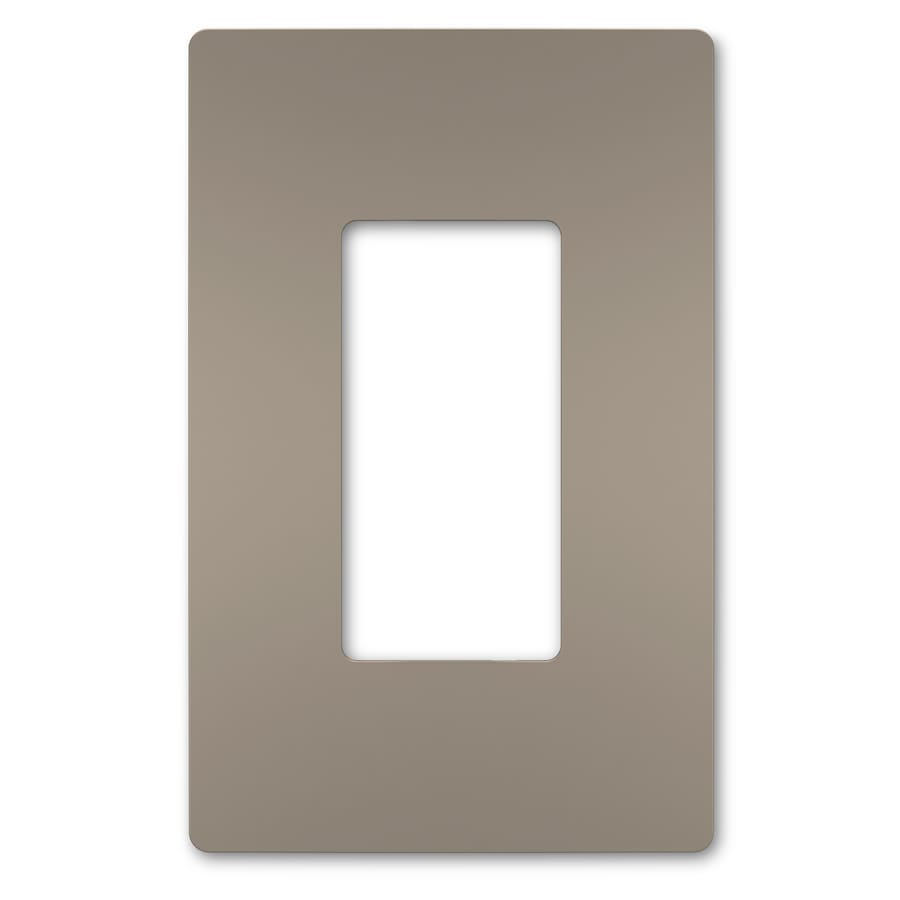 hight resolution of legrand radiant 1 gang nickel single midsize wall plate