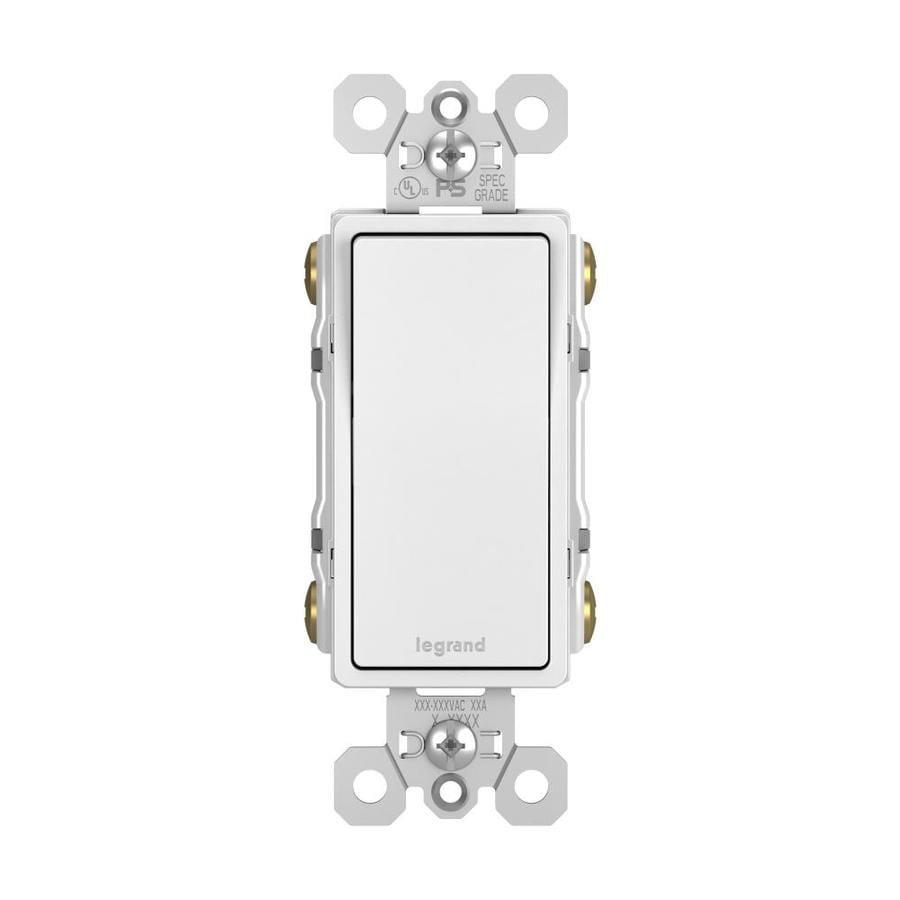 hight resolution of pass seymour legrand radiant 15 amp 3 way 4 way white rocker residential light switch