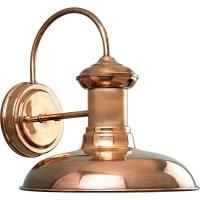 Shop Progress Lighting Brookside 10.75-in H Copper Outdoor ...