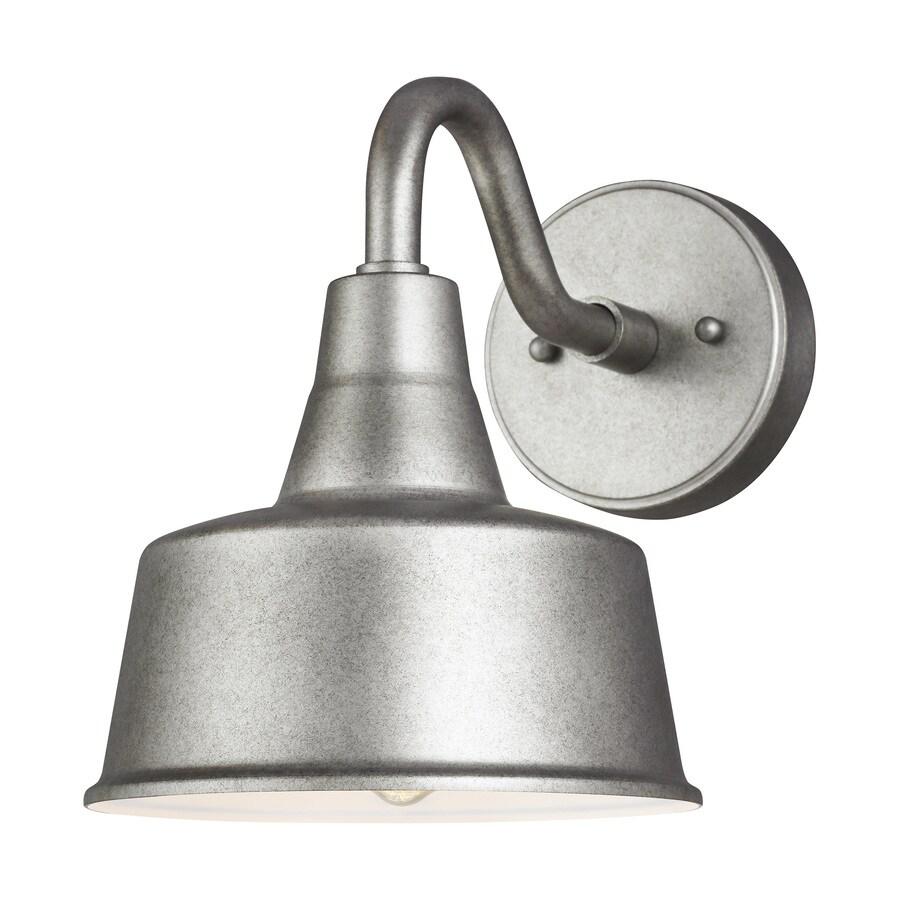 sea gull lighting barn light small 1 light weathered pewter outdoor wall mount lantern