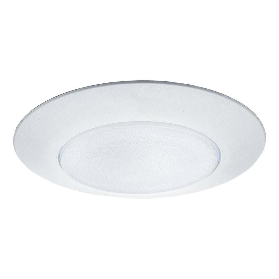 sea gull lighting white shower recessed light trim fits housing diameter 8 in in the recessed light trim department at lowes com