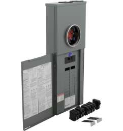 square d 40 circuit 200 amp main breaker load center value pack  [ 900 x 900 Pixel ]