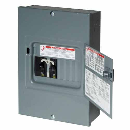 small resolution of square d 8 circuit 8 space 60 amp main breaker load center at lowes com rv meter box single pole rv fuse box