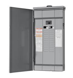 square d homeline 48 circuit 125 amp main breaker plug on neutral load center [ 900 x 900 Pixel ]