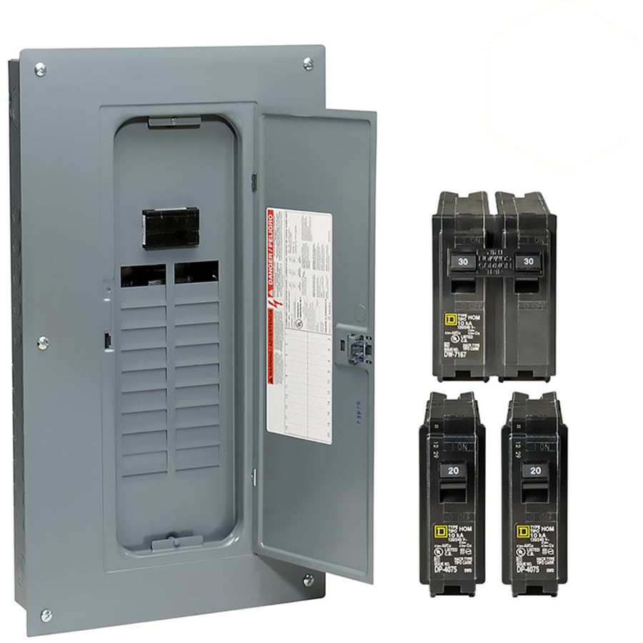 hight resolution of square d homeline 40 circuit 100 amp main breaker plug on neutral load