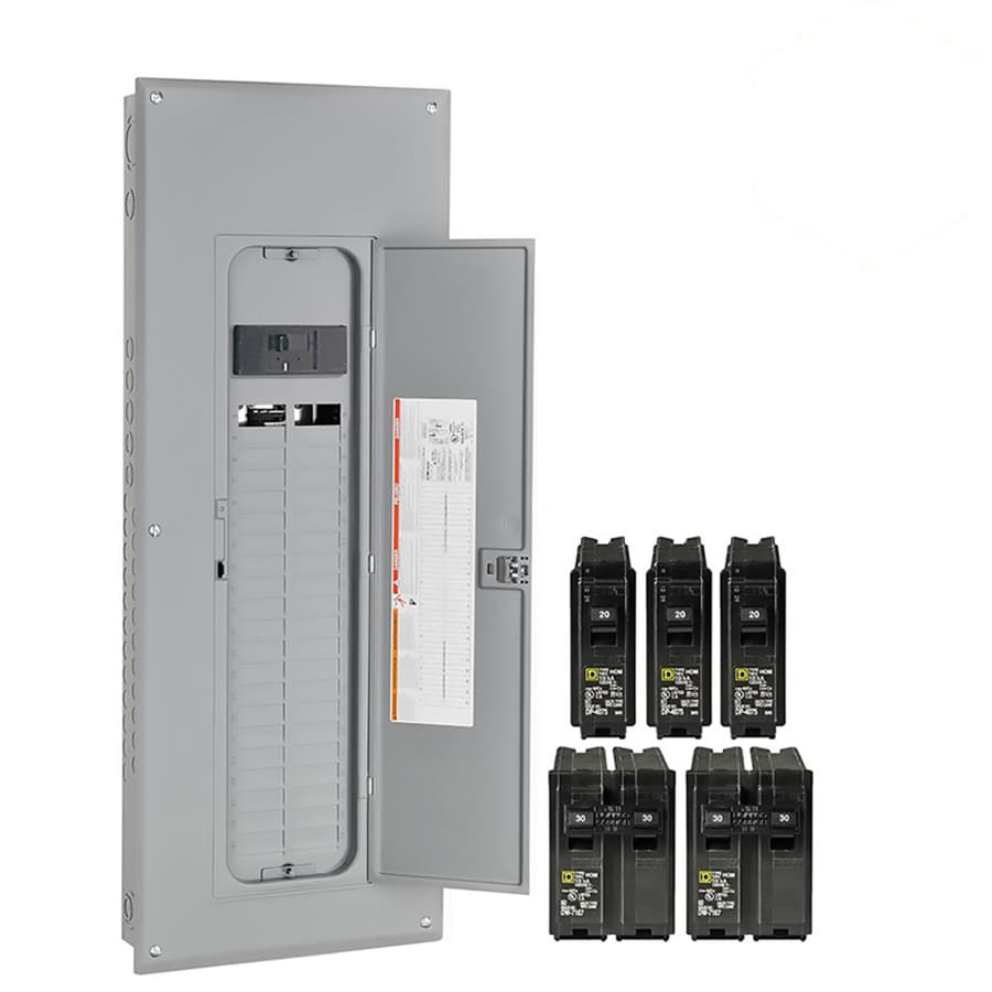 hight resolution of square d homeline 80 circuit 200 amp main breaker plug on neutral load