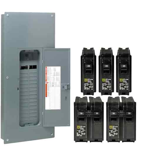small resolution of breaker boxes at lowes com 200 ge breaker panel diagram electrical sub panel breaker 50 rv plug