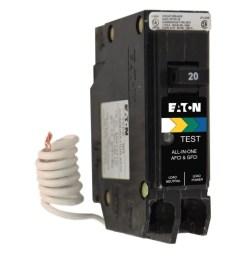 eaton type br 20 amp 1 pole dual function afci gfci circuit breaker [ 900 x 900 Pixel ]