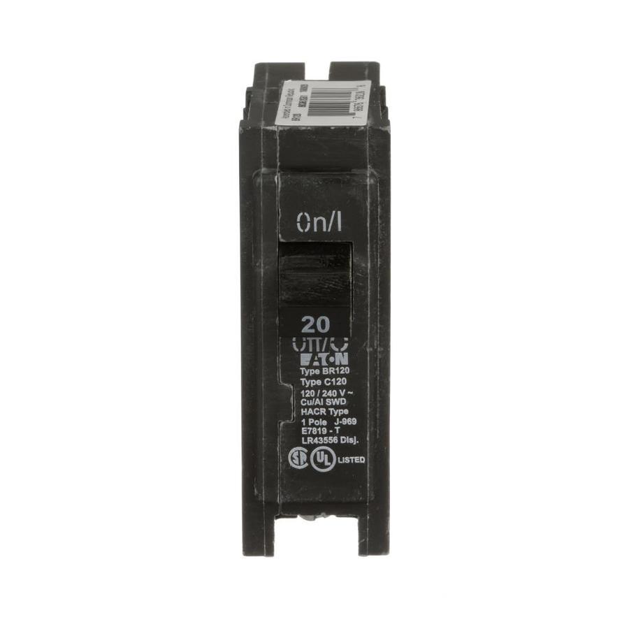 medium resolution of eaton type br 20 amp 1 pole standard trip circuit breaker