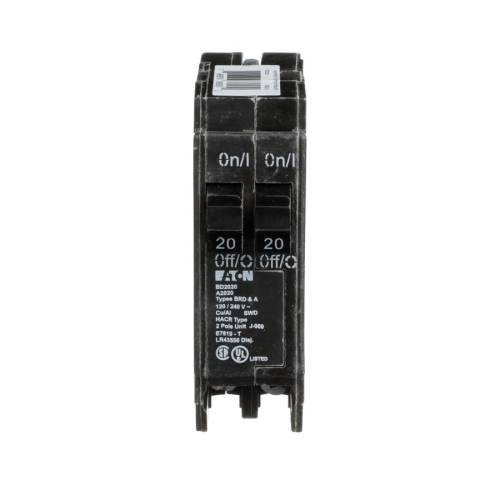 small resolution of eaton type br 20 amp 2 pole tandem circuit breaker at lowes com