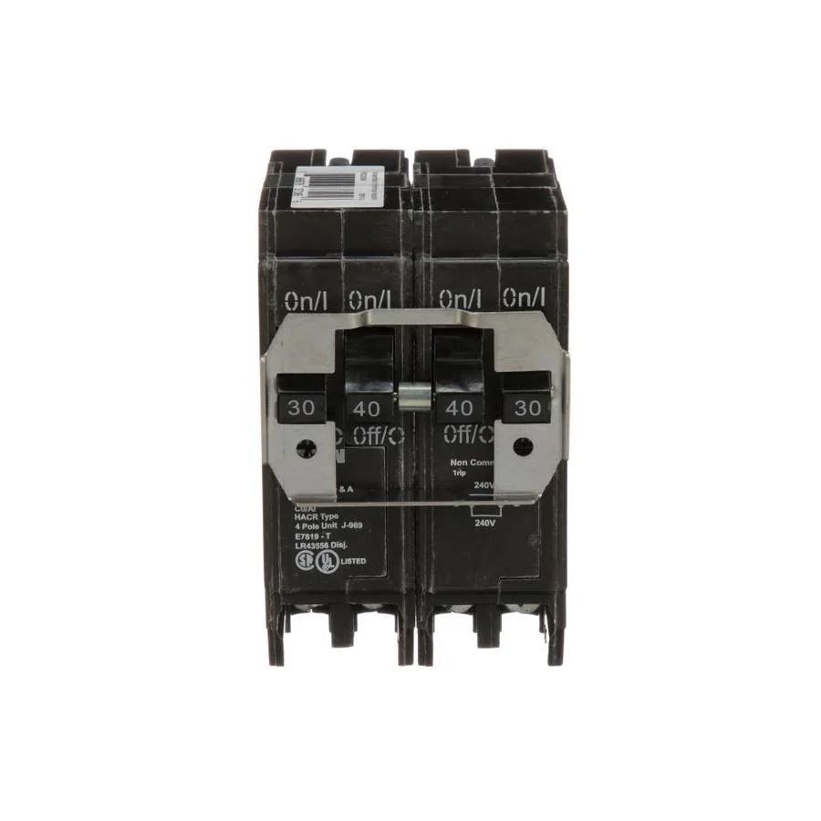 medium resolution of eaton type br 40 amp 4 pole quad circuit breaker at lowes com besides 30 2 pole breaker on 2 pole 40 amp circuit breaker wiring