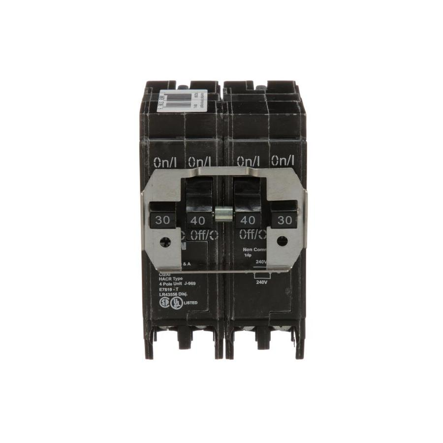 hight resolution of eaton type br 40 amp 4 pole quad circuit breaker at lowes com besides 30 2 pole breaker on 2 pole 40 amp circuit breaker wiring