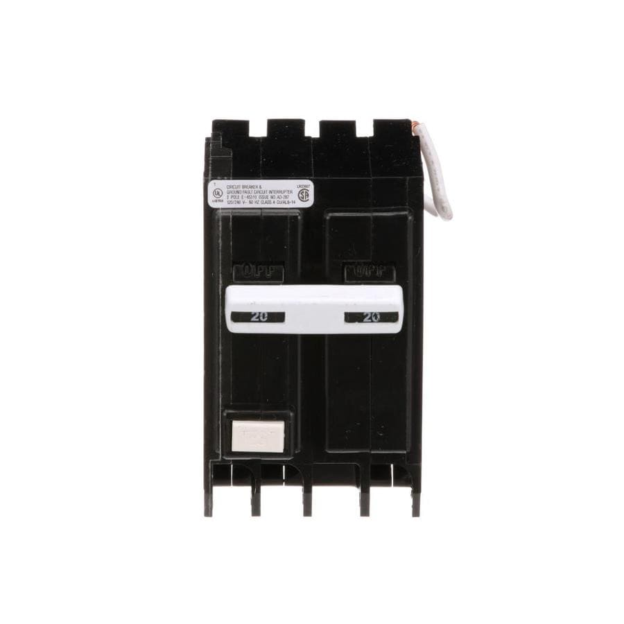 Shop Eaton Type Br 20amp Ground Fault Circuit Breaker At Lowescom