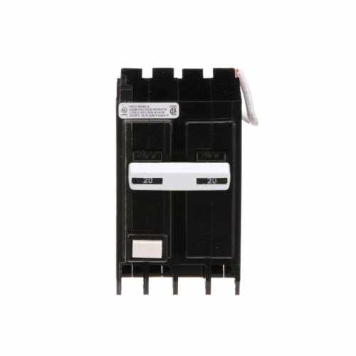small resolution of eaton type br 20 amp 2 pole gfci circuit breaker at lowes com wiring 220v gfci circuit breaker 2