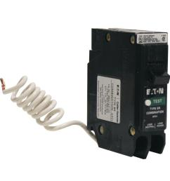eaton type br 20 amp 1 pole combination arc fault circuit breaker [ 900 x 900 Pixel ]